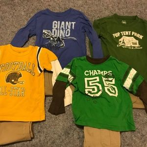 Boy's Lot of Size 4T Outfits